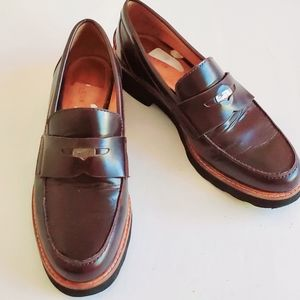 Coach Brown Loafers Size 7